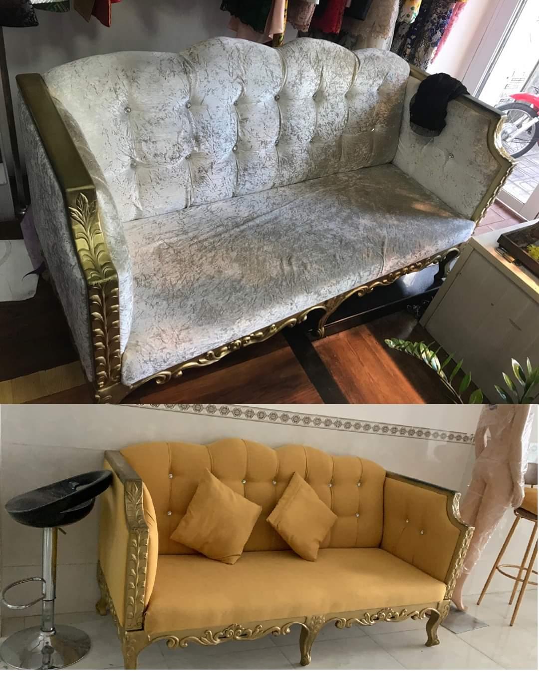 Bọc lại ghế sofa cho Anh Sơn tại Đường Huỳnh Văn Bánh, Quận Phú Nhuận