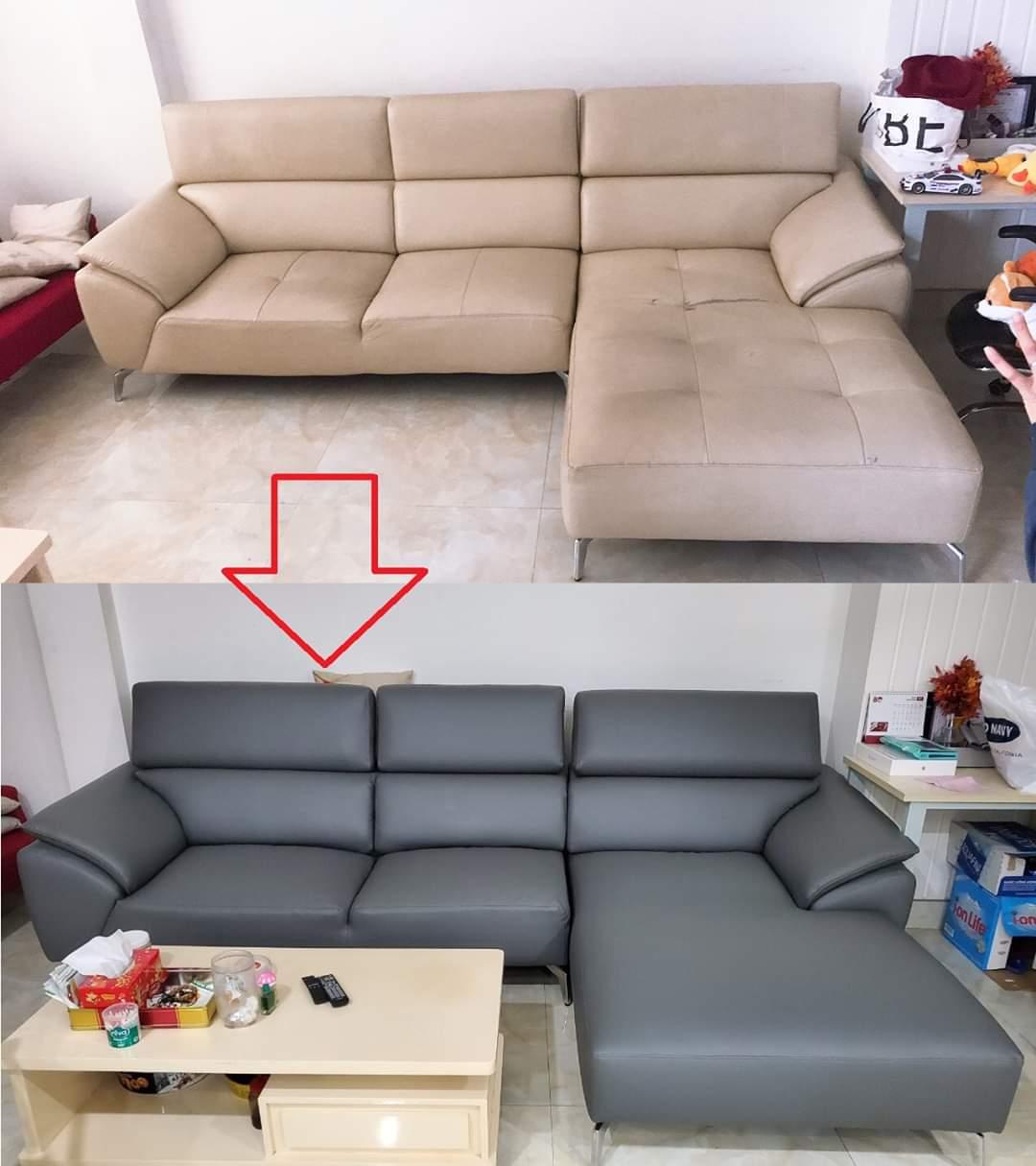 Bọc lại ghế sofa cho Anh Hà tại đường Đào Duy Anh, Quận Phú Nhuận