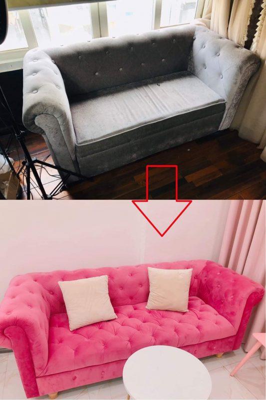 Bọc mới lại ghế sofa cho Chị Huyền tại Đường Hai Bà Trưng, Quận 3